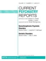 Current Psychiatry Reports 3/2011