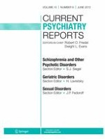 Current Psychiatry Reports 6/2013