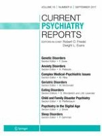 Current Psychiatry Reports 9/2017