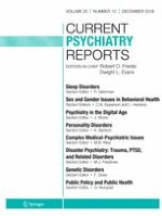 Current Psychiatry Reports 12/2018