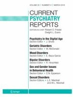 Current Psychiatry Reports 3/2018