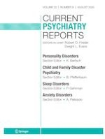 Current Psychiatry Reports 8/2020