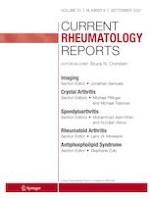 Current Rheumatology Reports 9/2021
