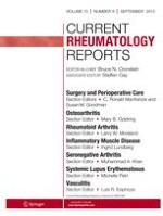 Current Rheumatology Reports 6/2001