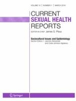 Current Sexual Health Reports 1/2018