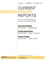 Current Urology Reports 6/2010