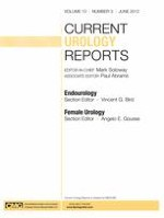 Current Urology Reports 3/2012