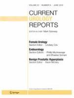 Current Urology Reports 6/2019
