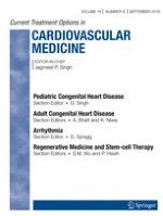 Current Treatment Options in Cardiovascular Medicine 9/2016