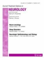 Current Treatment Options in Neurology 3/2017