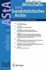 AStA Wirtschafts- und Sozialstatistisches Archiv 3-4/2017