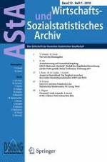 AStA Wirtschafts- und Sozialstatistisches Archiv 1/2018
