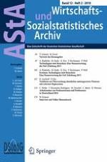 AStA Wirtschafts- und Sozialstatistisches Archiv 2/2018