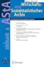 AStA Wirtschafts- und Sozialstatistisches Archiv 2/2020