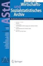 AStA Wirtschafts- und Sozialstatistisches Archiv 1/2021
