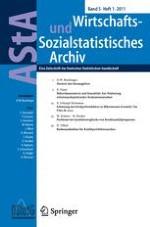 AStA Wirtschafts- und Sozialstatistisches Archiv 1/2011