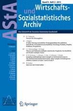 AStA Wirtschafts- und Sozialstatistisches Archiv 2/2015