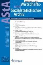 AStA Wirtschafts- und Sozialstatistisches Archiv 3-4/2015