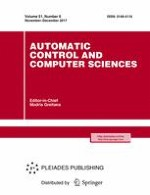 Automatic Control and Computer Sciences 6/2017