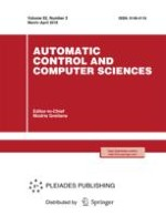 Automatic Control and Computer Sciences 2/2018