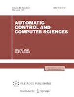 Automatic Control and Computer Sciences 3/2020