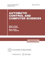 Automatic Control and Computer Sciences 8/2020