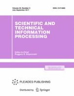 Scientific and Technical Information Processing 3/2017