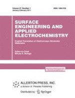 Surface Engineering and Applied Electrochemistry 1/2011