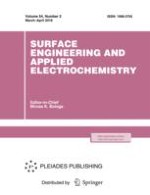 Surface Engineering and Applied Electrochemistry 2/2018