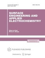 Surface Engineering and Applied Electrochemistry 2/2020