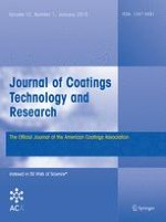 Journal of Coatings Technology and Research 1/2015