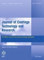 Journal of Coatings Technology and Research 2/2015