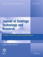 Journal of Coatings Technology and Research 5/2017