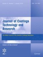 Journal of Coatings Technology and Research 1/2018