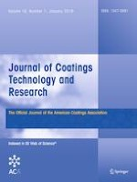 Journal of Coatings Technology and Research 1/2019