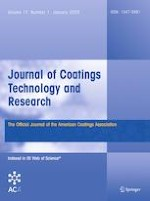 Journal of Coatings Technology and Research 1/2020