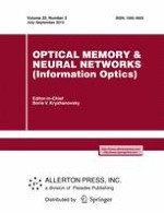 Optical Memory and Neural Networks 3/2013