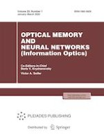 Optical Memory and Neural Networks 1/2020