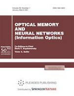 Optical Memory and Neural Networks 1/2021