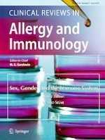 Clinical Reviews in Allergy & Immunology 3/2019