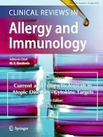Clinical Reviews in Allergy & Immunology 2/2020