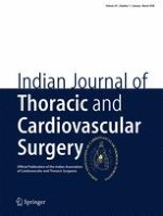 Indian Journal of Thoracic and Cardiovascular Surgery 1/2018