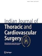 Indian Journal of Thoracic and Cardiovascular Surgery 2/2019