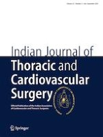 Indian Journal of Thoracic and Cardiovascular Surgery 3/2019