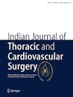 Indian Journal of Thoracic and Cardiovascular Surgery 4/2019