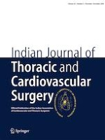 Indian Journal of Thoracic and Cardiovascular Surgery 6/2020