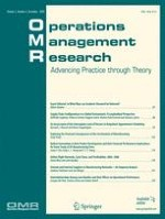 Operations Management Research 2/2008