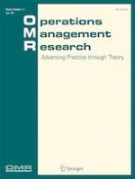 Operations Management Research 1-2/2019