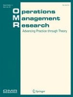 Operations Management Research 1-2/2015