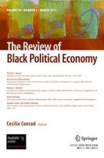 The Review of Black Political Economy 1/2011
